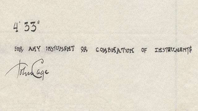 John Cage csendje tartalmasabb, mint gondolnánk